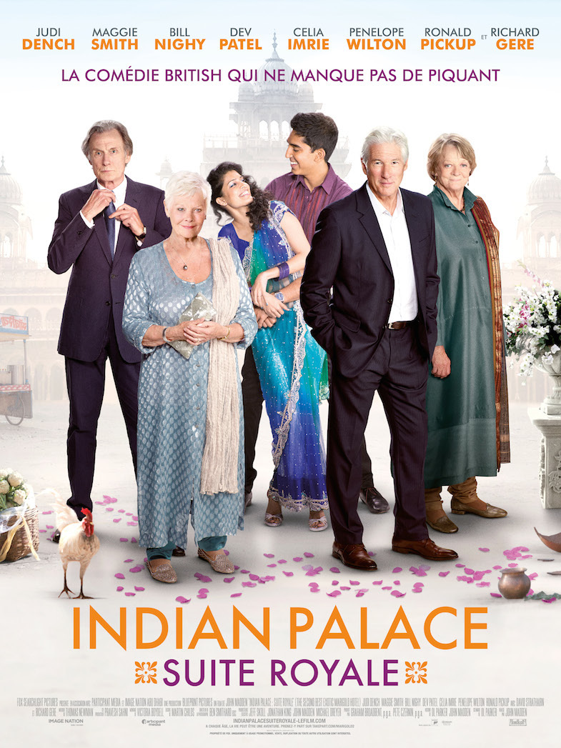 Affiche extraits Indian Palace suite royale
