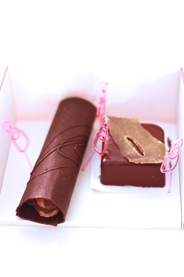Eclair grand cru chocolat Patisserie des reves
