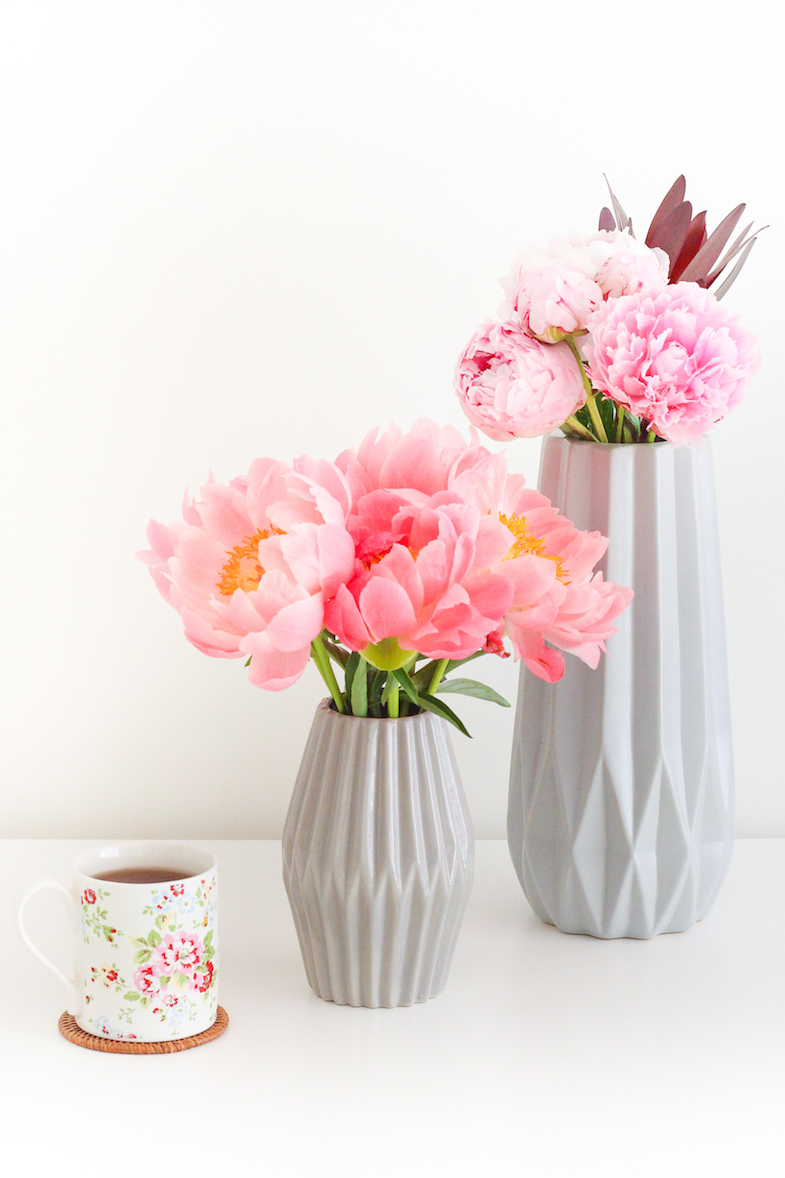 Pivoines vase Bloomingville Cath Kidston