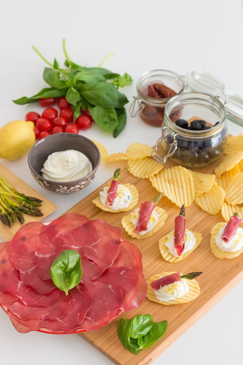 Recette chips San Carlo Asperges bresaola-3