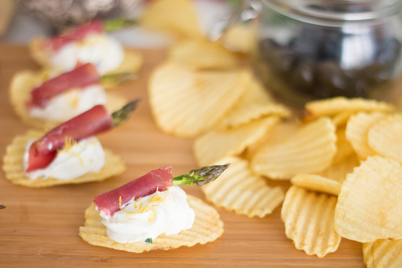 Recette chips San Carlo Asperges bresaola-5