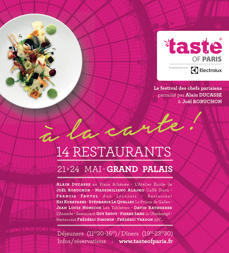 Taste of Paris programme