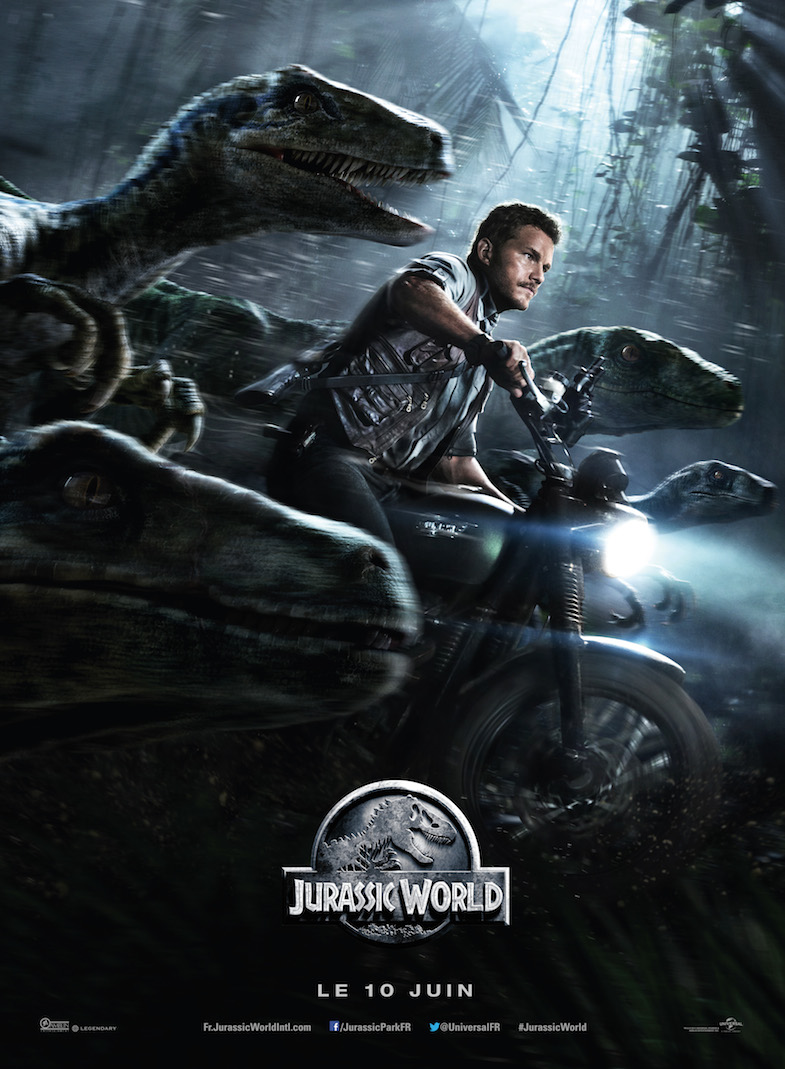 Affiche critique conference presse Jurassic World