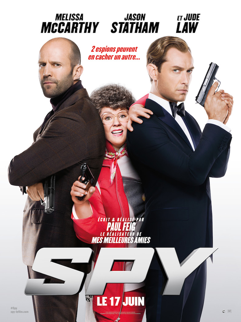 Affiche critique review film Spy