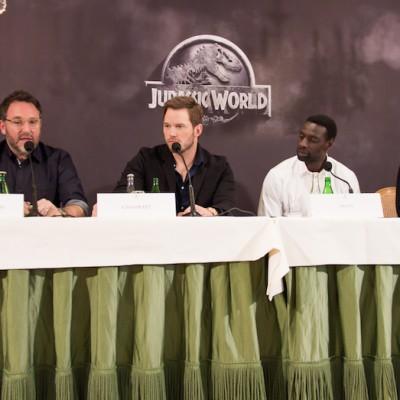 Conference de presse Jurassic World Paris Bristol-11