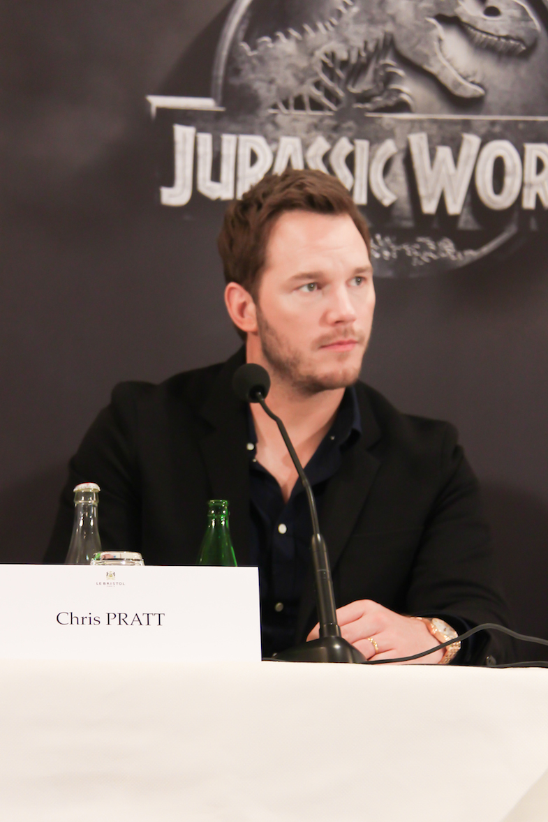 Conference de presse Jurassic World Paris Bristol-12