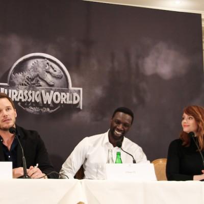 Conference de presse Jurassic World Paris Bristol-15