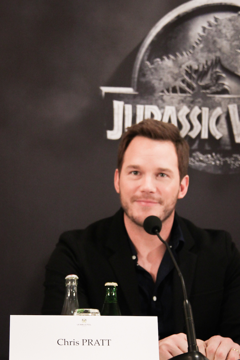 Conference de presse Jurassic World Paris Bristol-16