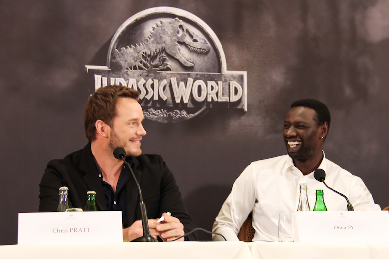Conference de presse Jurassic World Paris Bristol-19