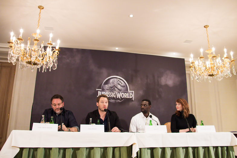 Conference de presse Jurassic World Paris Bristol-3