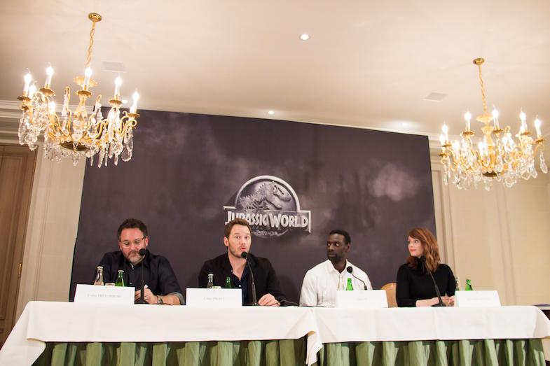 Conference de presse Jurassic World Paris Bristol-3