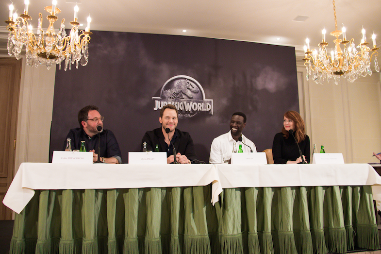 Conference de presse Jurassic World Paris Bristol-4