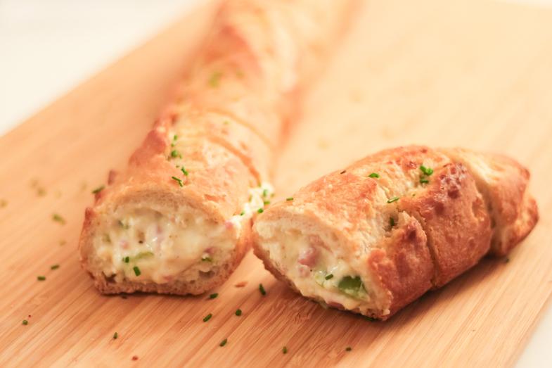 Recette creative apéritif pain farci-fromage-1