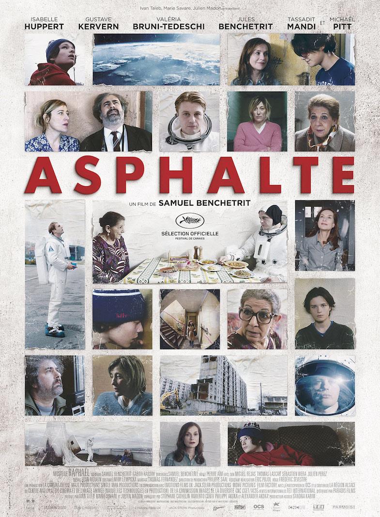 Affiche film Asphalte critique concours