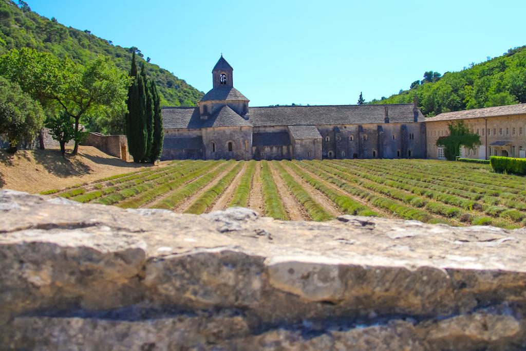 Villages du Lubéron-Abbaye de Sénanque 2