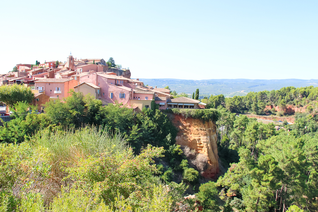 Villages du Lubéron-Ocres Rousillon