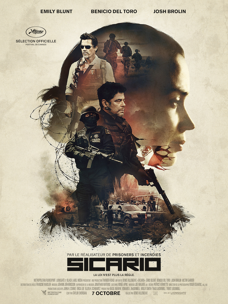 Affiche critique Sicario film