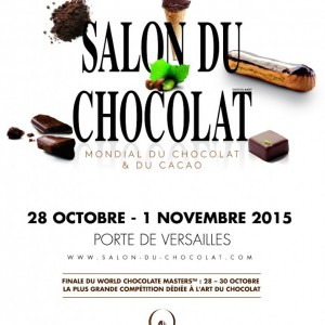 Le 21ème salon du chocolat à Paris