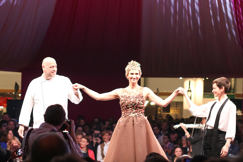 Defile salon du chocolat Paris 2015-1