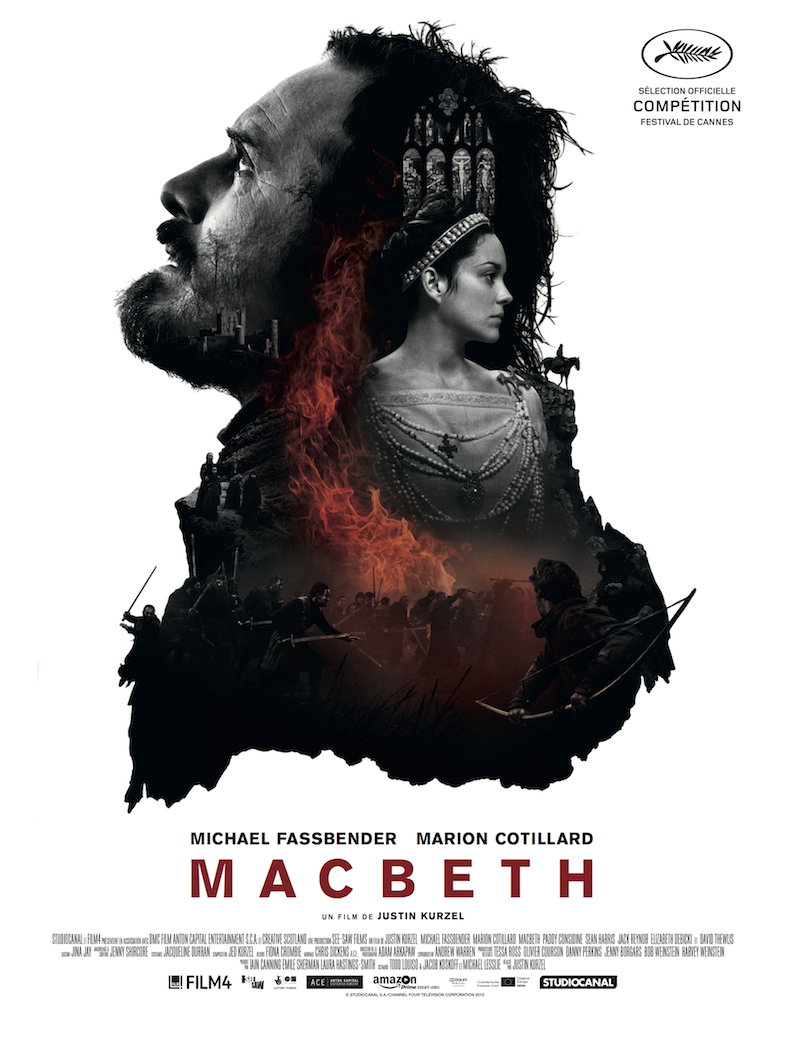 Affiche critique cinema film Macbeth