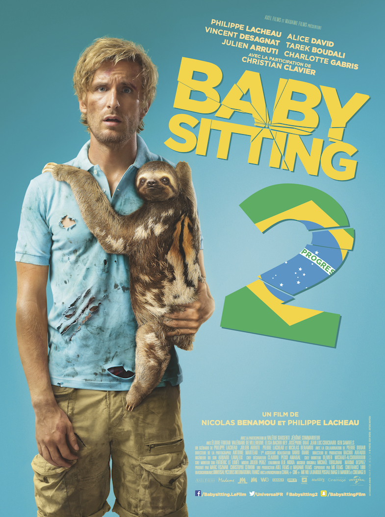 Affiche critique film blog Babysitting 2