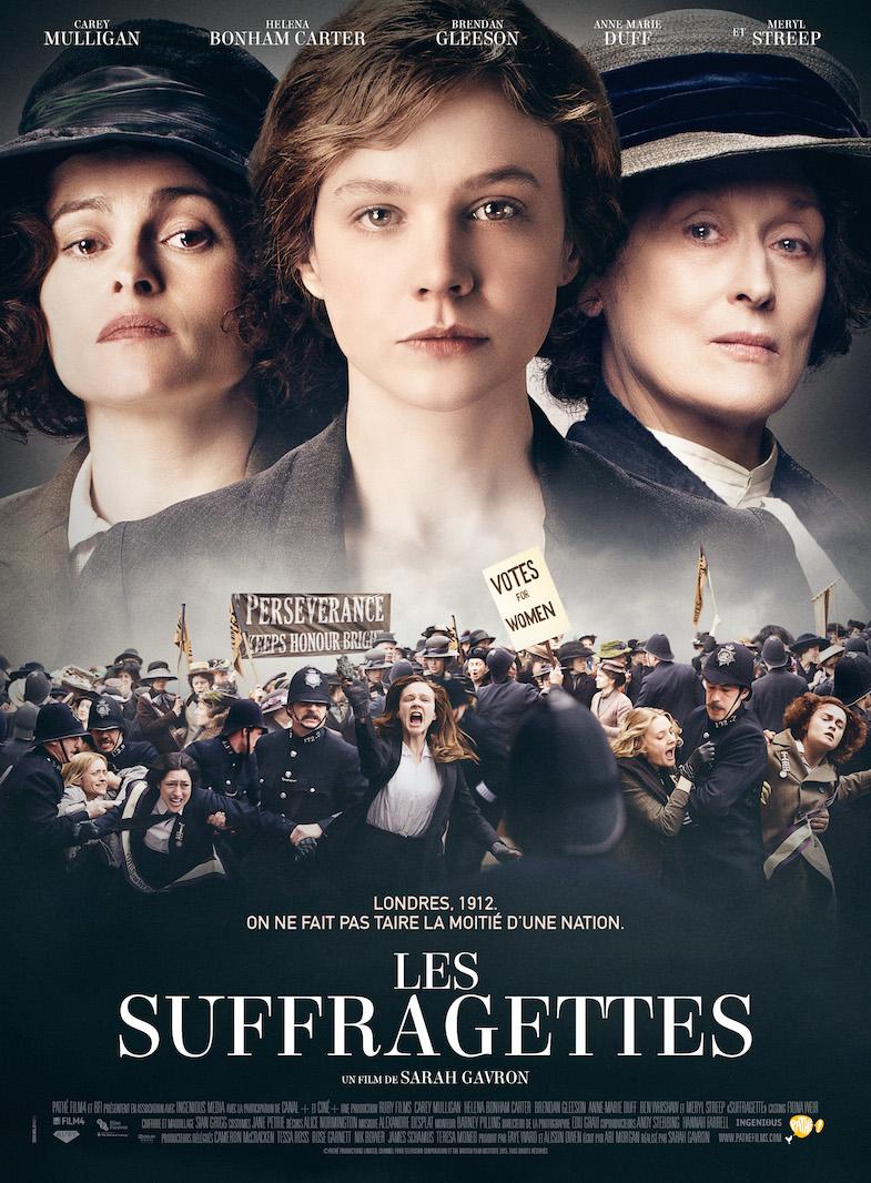 Affiche critique film blog Les suffragettes