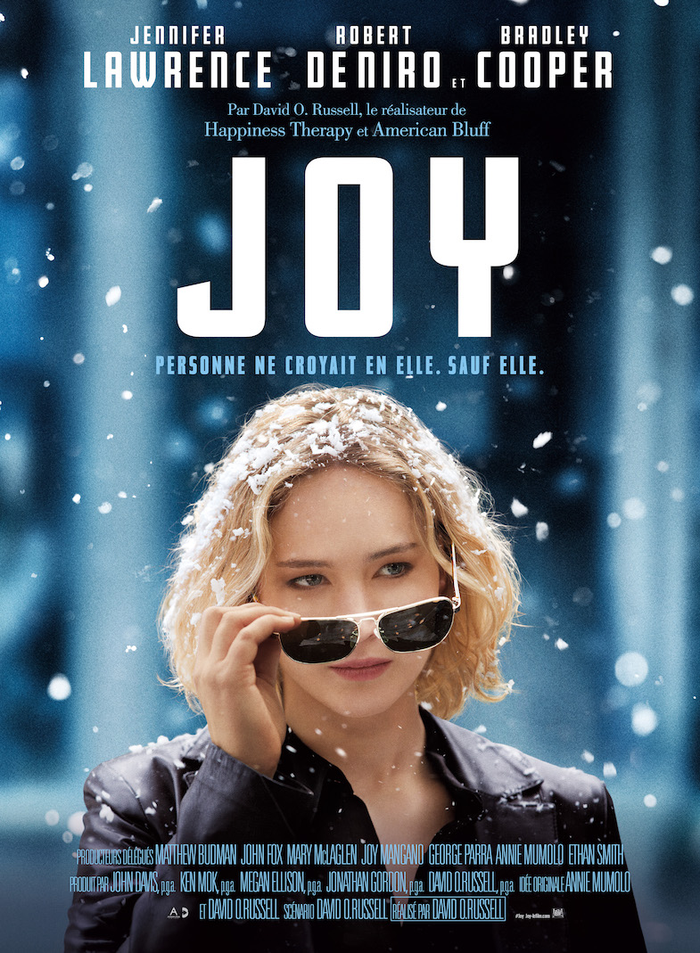 Affiche critique film cinema Joy blog