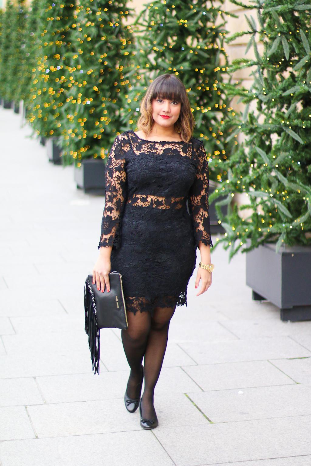 La petite robe noire look noel-6