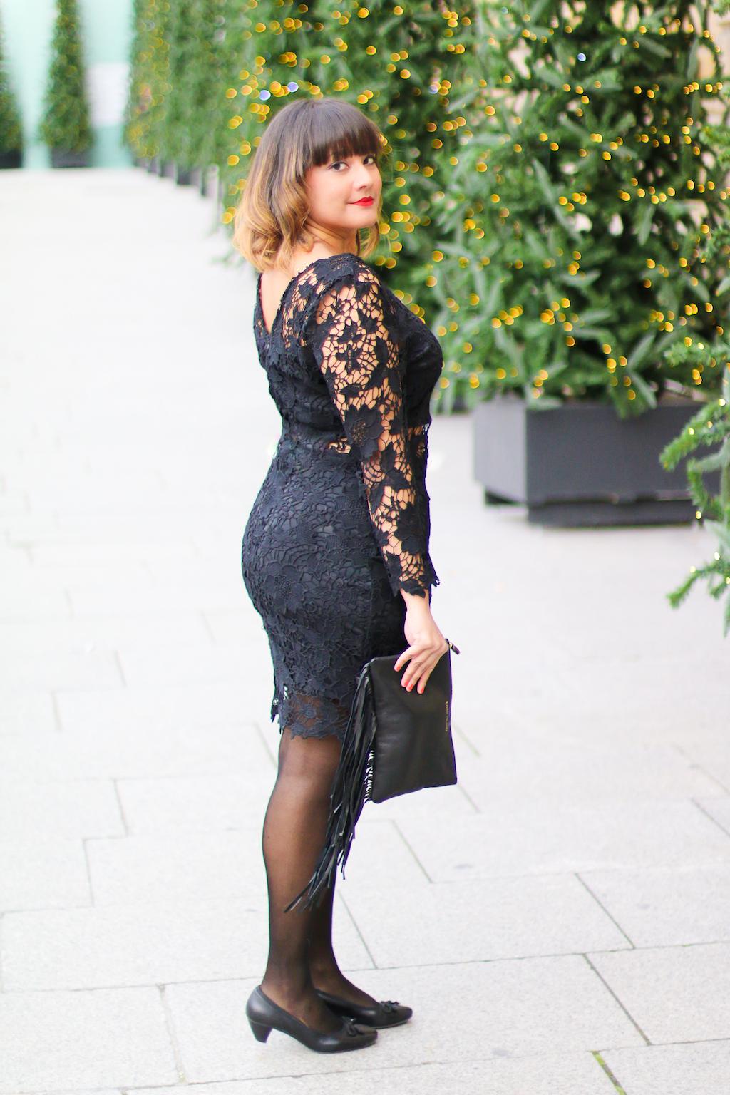 La petite robe noire look noel-7