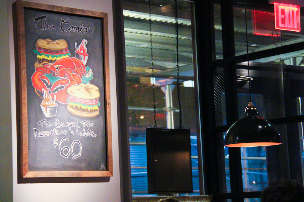New York city Burger & Lobster