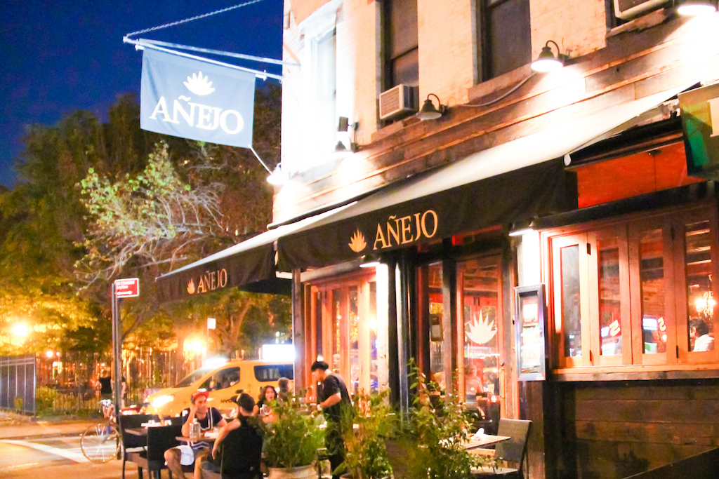 New York city guide Anejo mexicain