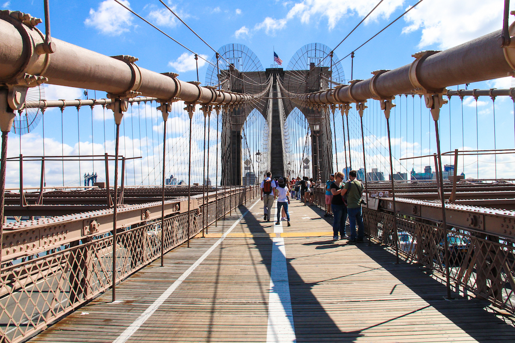 New York city guide Brooklyn Bridge 1