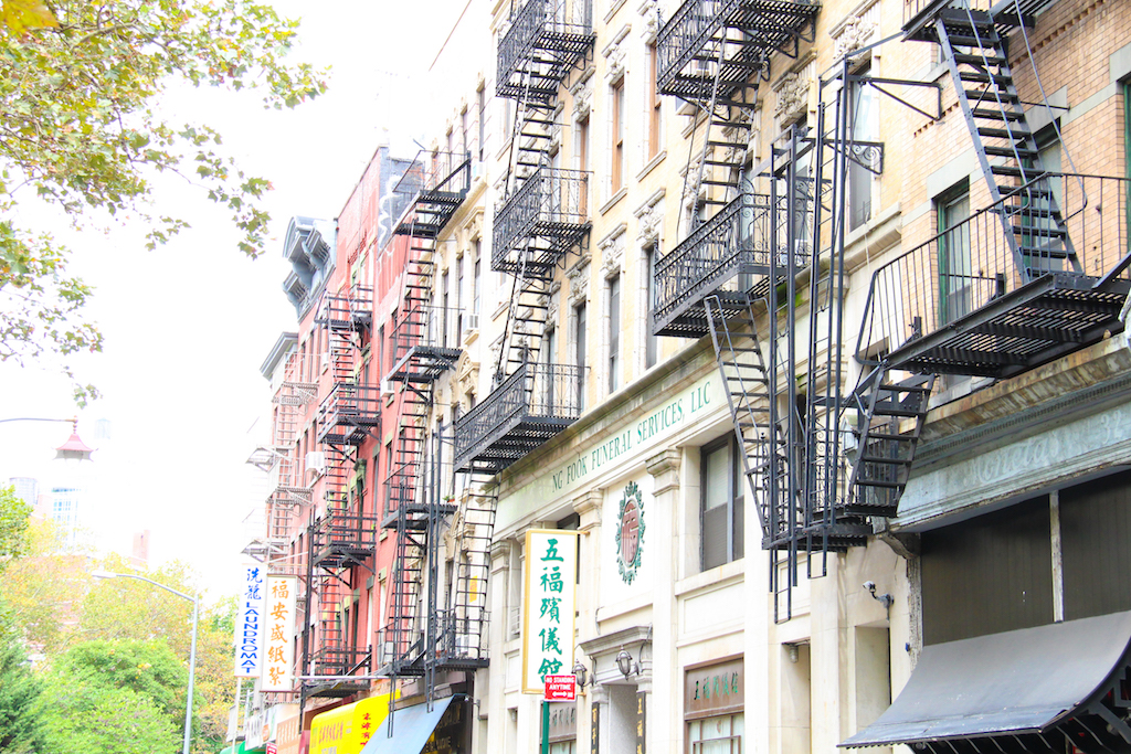 New York city guide China Town 1