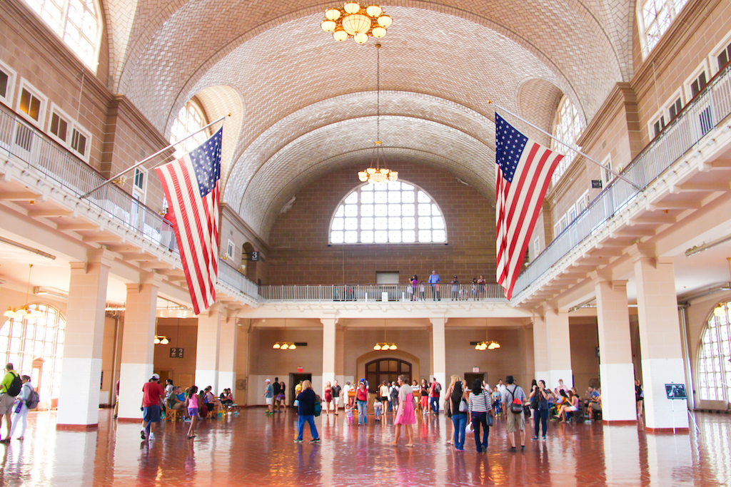 New York city guide Ellis Island 1