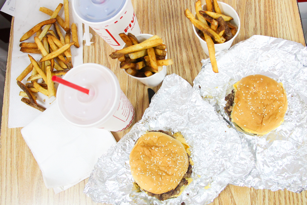New York city guide Five Guys