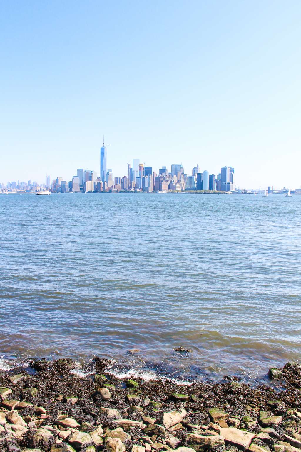 New York city guide Liberty Island 3