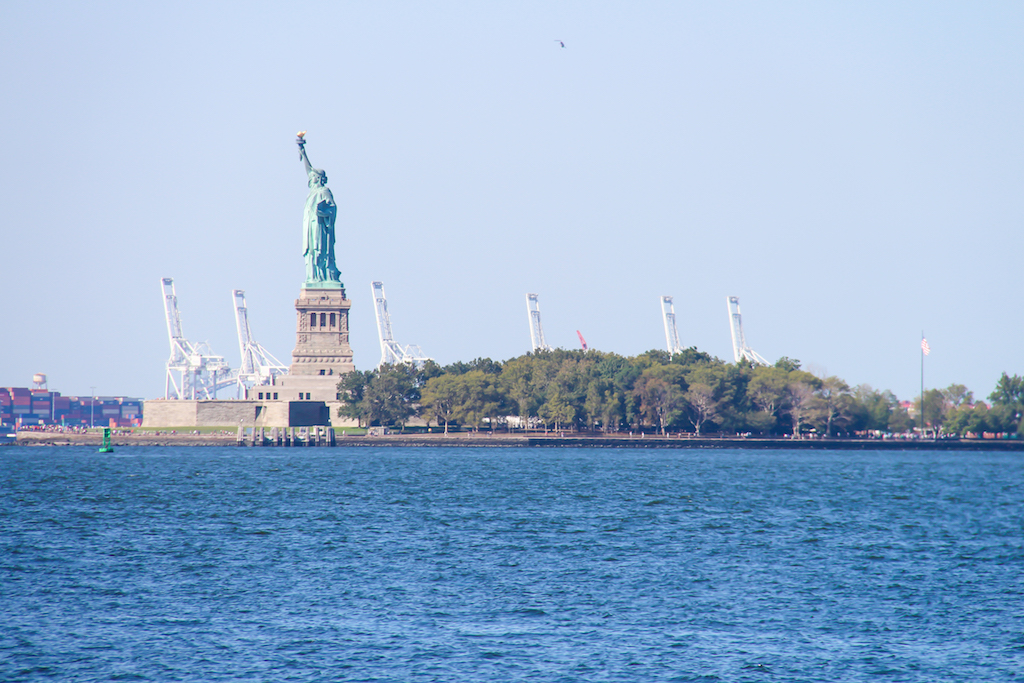 New York city guide Liberty Island
