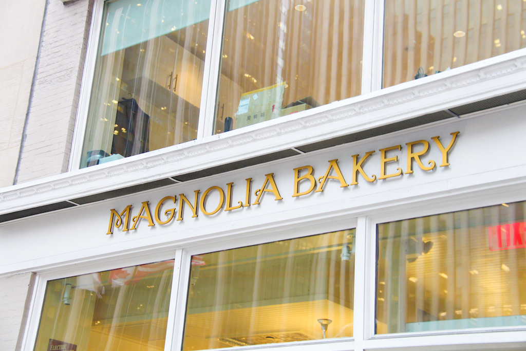 New York city guide Magnolia Bakery
