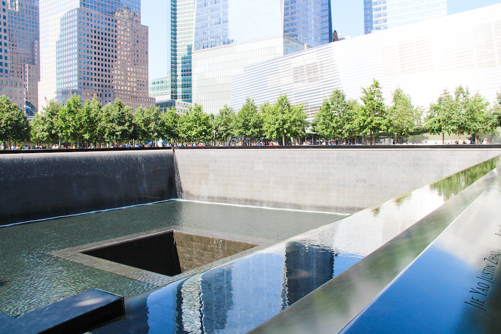 New York city guide Memorial 11 septembre