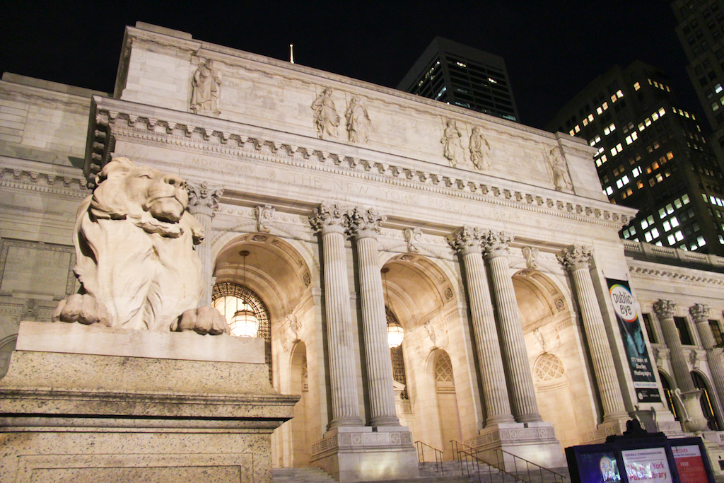 New York city guide Public Library