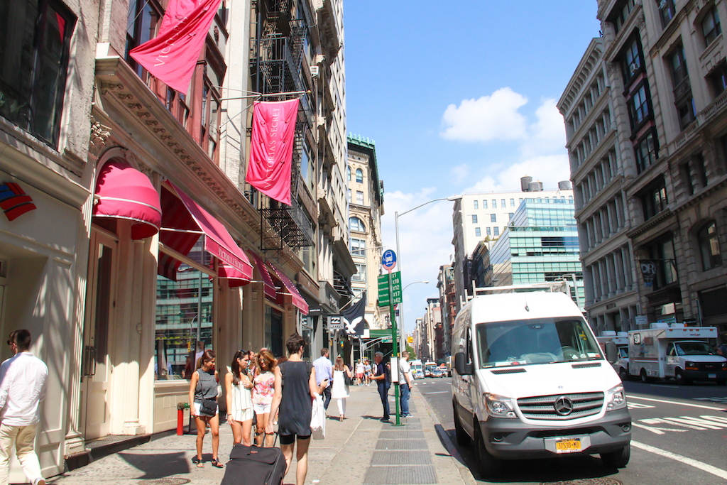 New York city guide Victoria's Secret