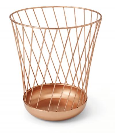 Poubelle en cuivre Made